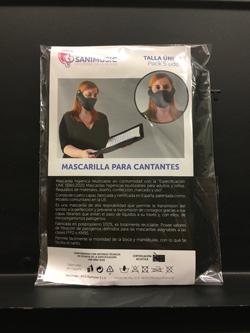 歌手用マスク(スペイン製)